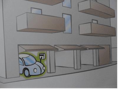Caricatore da quadro di appartamento