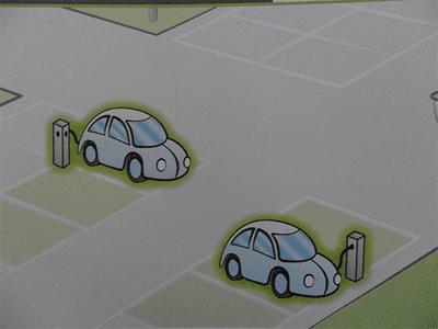 Caricatore da parcheggio