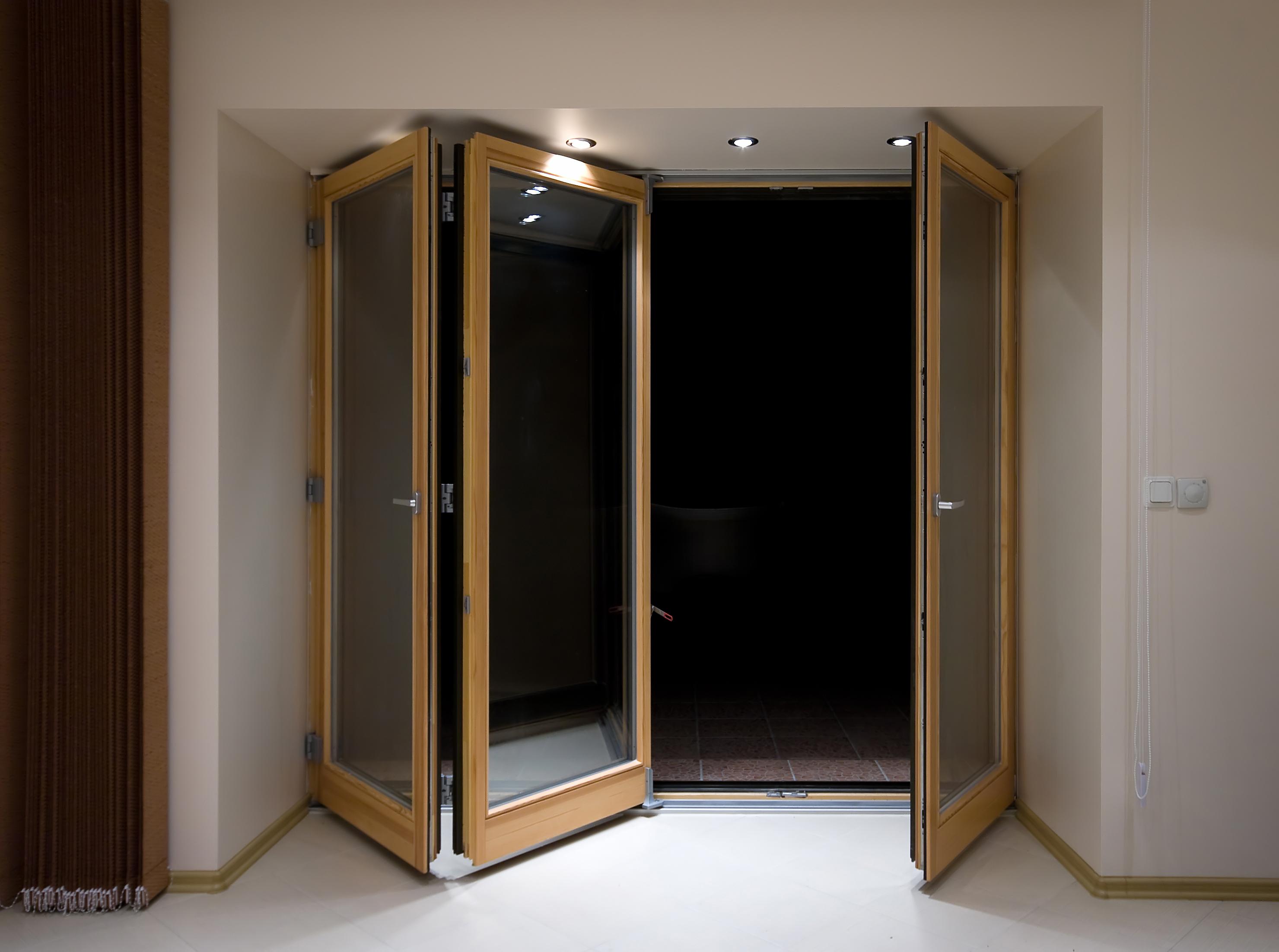 wood bifolding doors