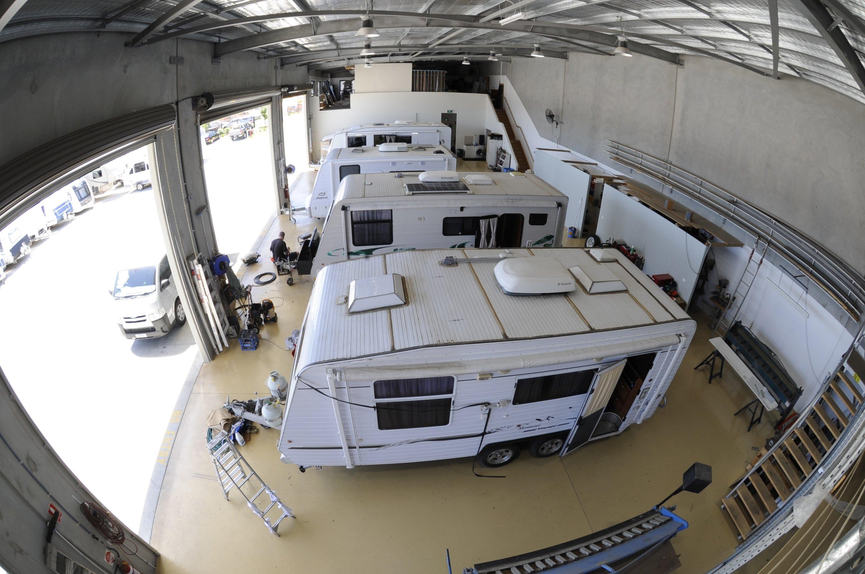 Luxurious caravan