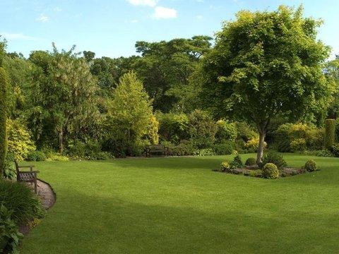 casa di riposo con giardino