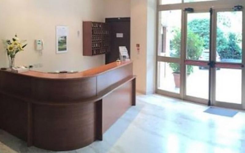 reception casa di riposo