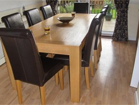 Bespoke furniture making - Blackburn, Lancashire  - JNT Joinery - Dining table