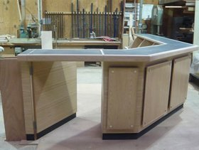 Bespoke furniture making - Blackburn, Lancashire  - JNT Joinery - Office table