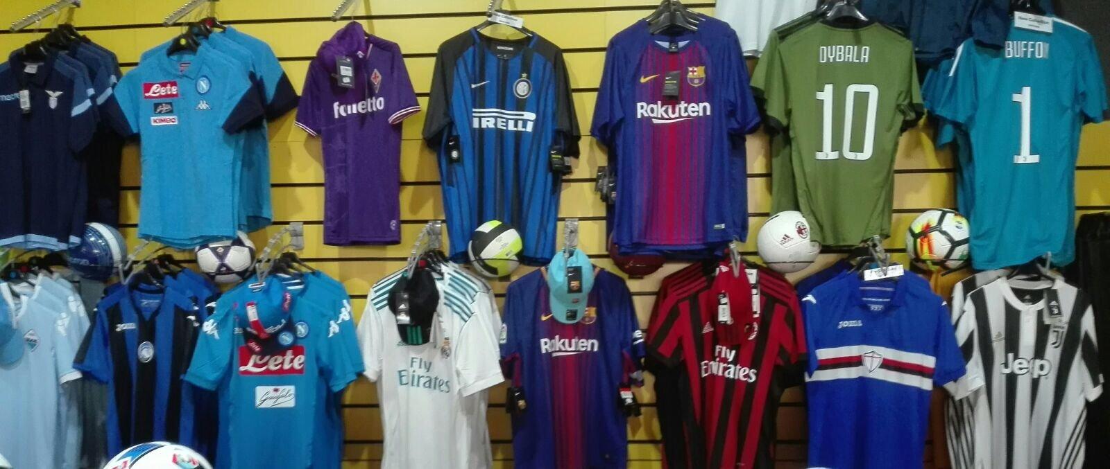 fornitura abbigliamento calcio