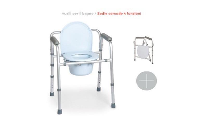 Ausilio per il bagno per disabili