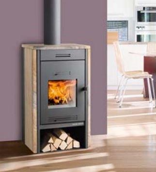 Haas & Sohn Kalius II grande wood burning stove