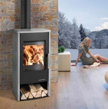 Haas & Sohn Pyrus wood burning stove
