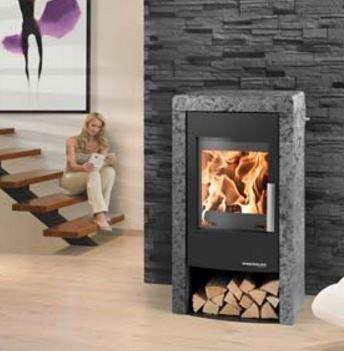 Haas & Sohn Rubus wood burning stove