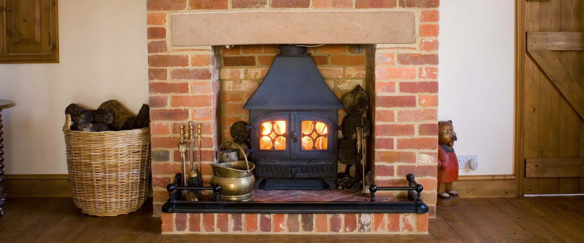 Stove supply and fitting