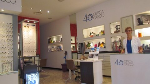Esame optometrico presso Ottica Casco Udine