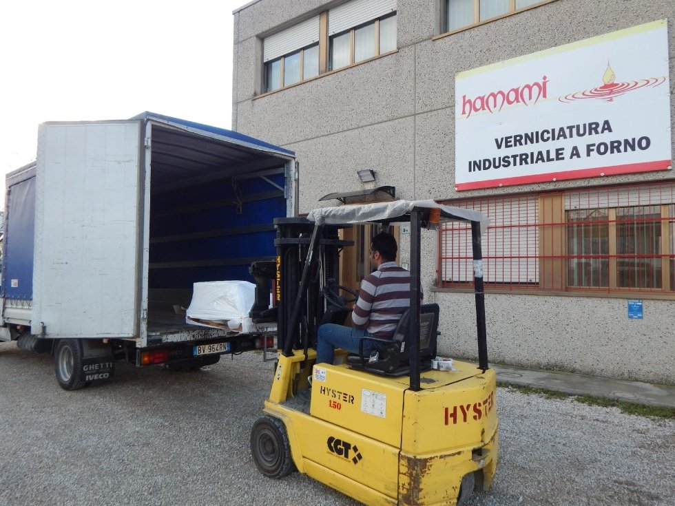 Verniciatura industriale Borgo San Lorenzo