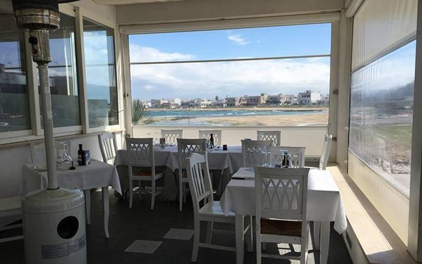 la terrazza del ristorante con vista panoramica