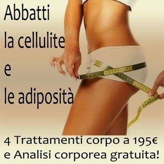 trattamento corpo, adiposità pelle, analisi corporea