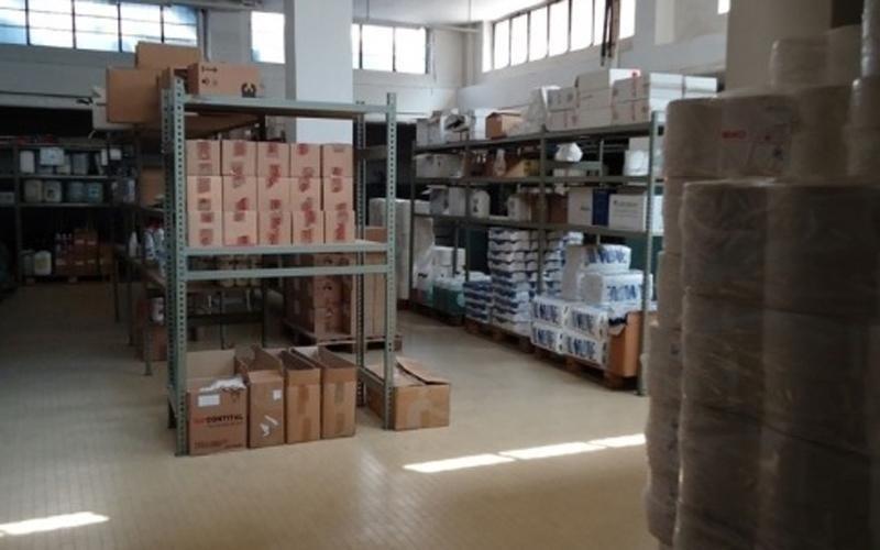 pulizia magazzini
