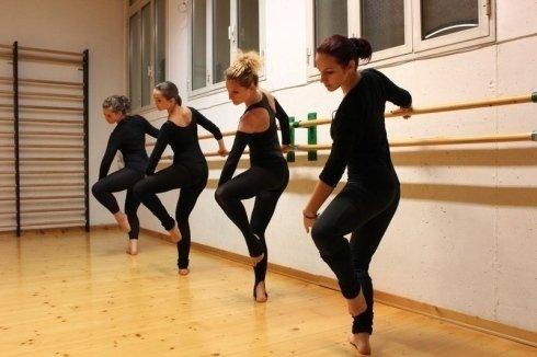 Riscaldamento danza classica