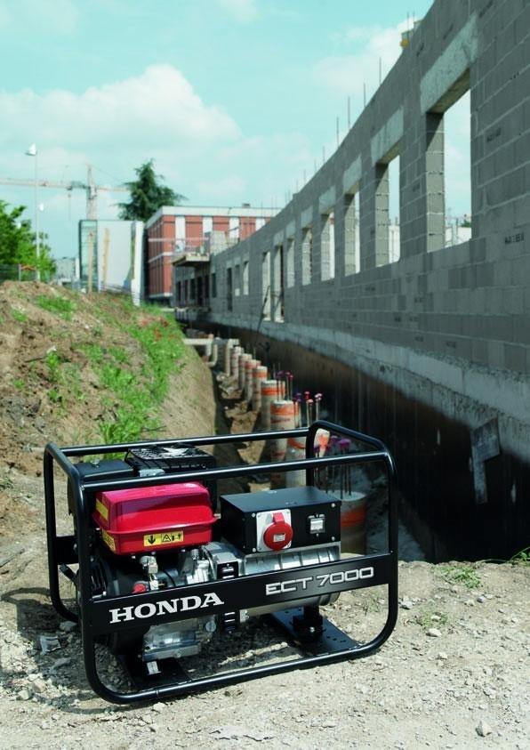Honda, Generatori, Motopompe e Carrelli Cingolati