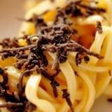 spaghetti with truffles