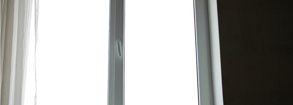 finestra con infissi in PVC