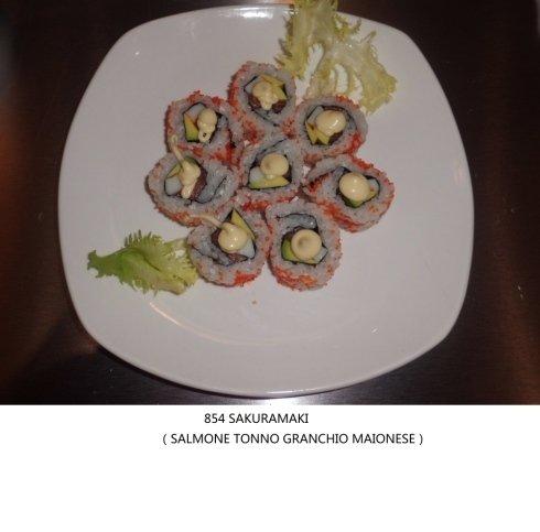 salmone tonno granchi maionese