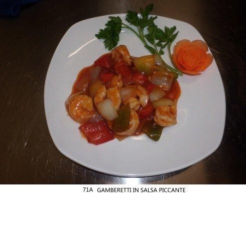 gamberetti in salsa piccante