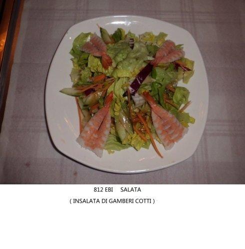 insalata di gamberi cotti