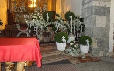 piante interne chiesa