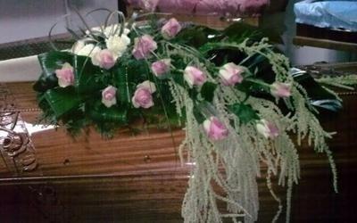 fiori per bara