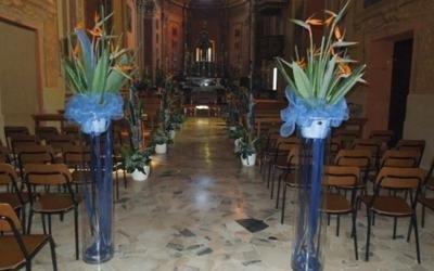 ingresso chiesa fiori