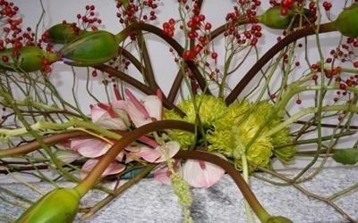 funerale allestimento floreale