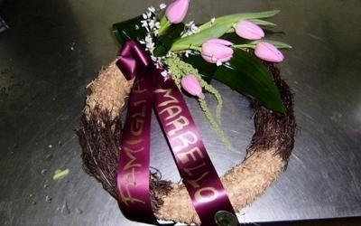 corona funerale