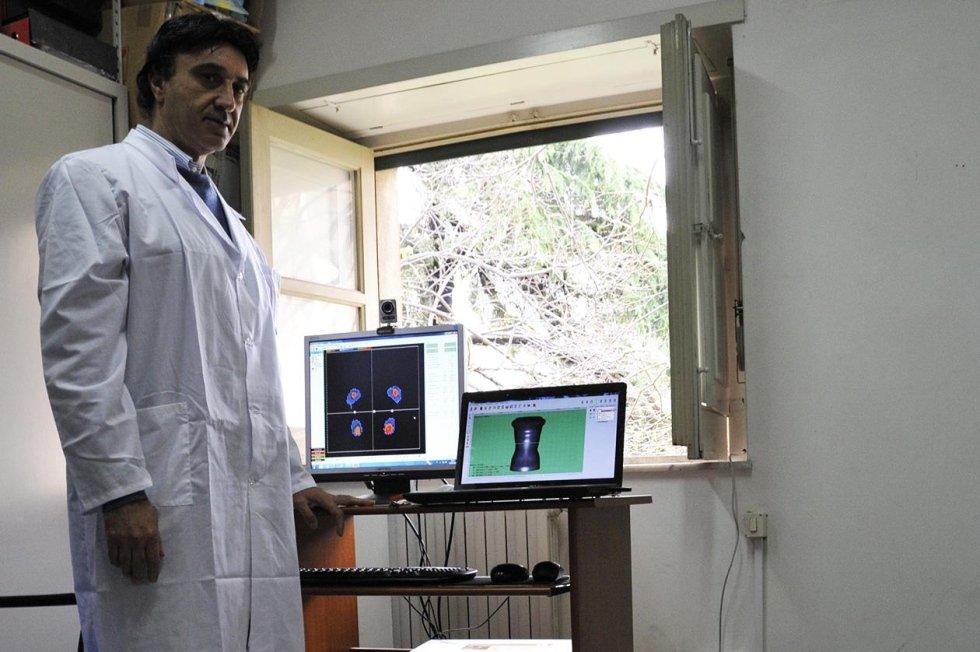 analisi computerizzata per articoli ortopedici