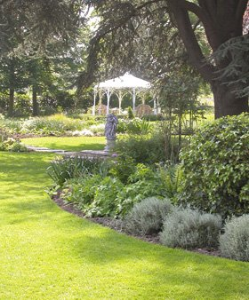 Gardening - Cowes - The Green Butler - Garden-Border-Lawn