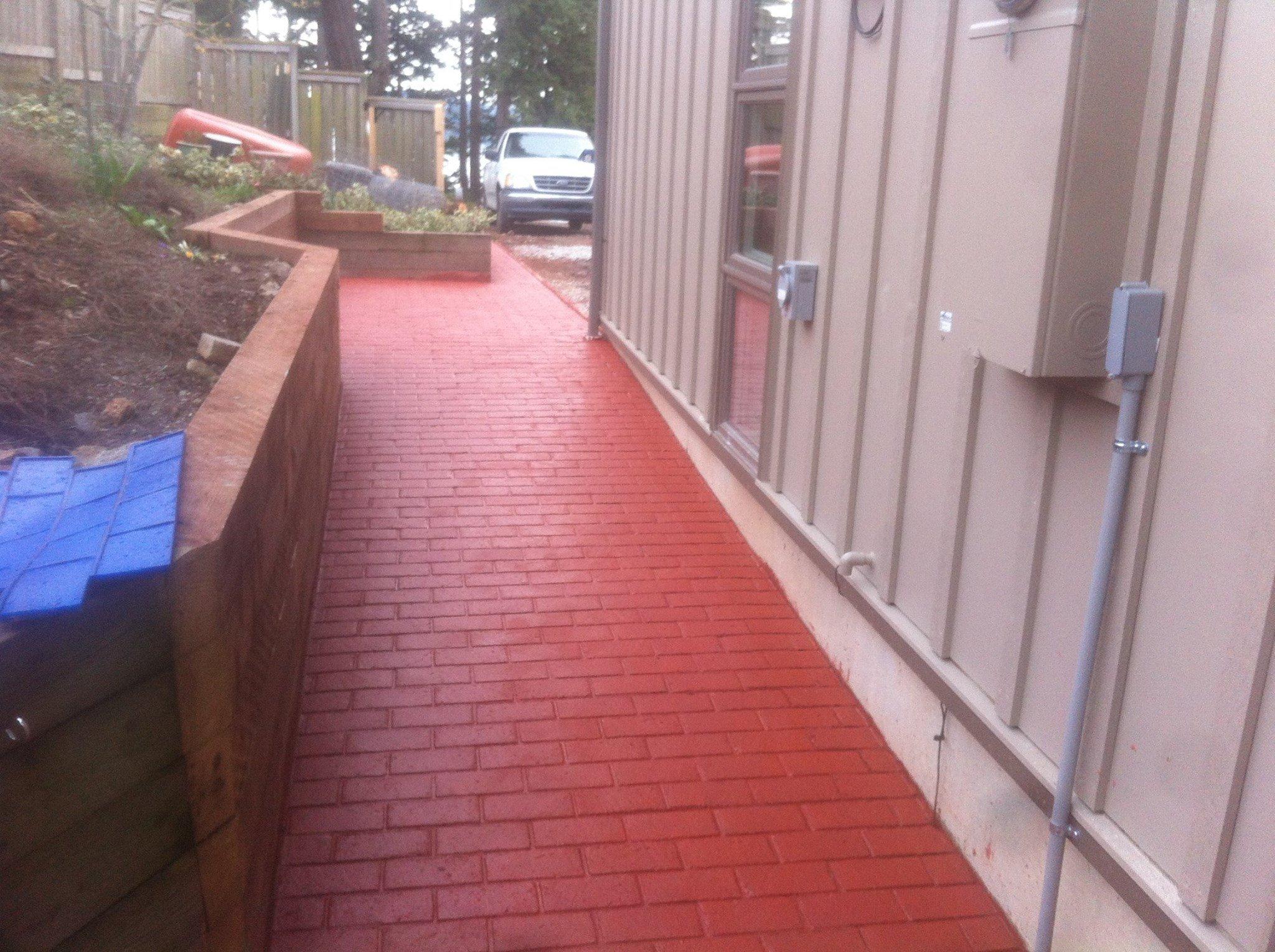Stamped Walkways & Sidewalks