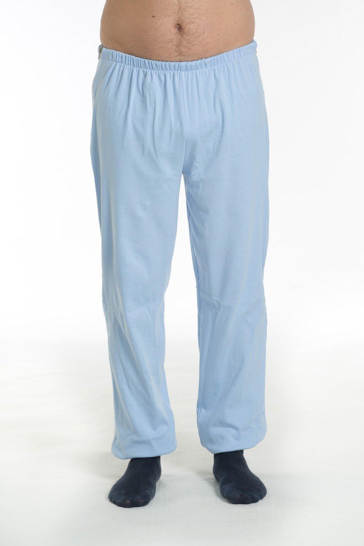 Pantaloni con cerniera