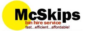 McSkips logo