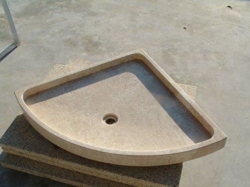 Realizzazione catini piatti doccia arzachena s i b a - Piatto doccia triangolare ...