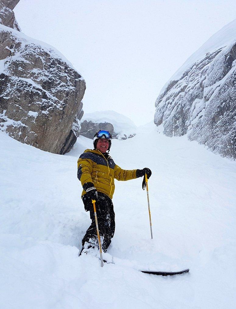 John Hollingsworth skiing @ Jackson Hole, WY