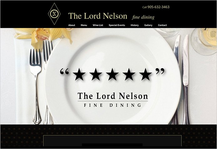 The Lord Nelson - fine dining
