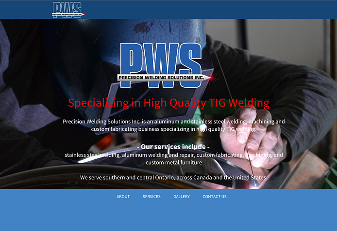 Precision Welding Solutions