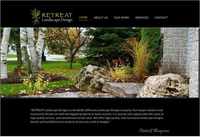 Retreat Landscape Design
