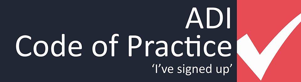 ADI code of practise logo