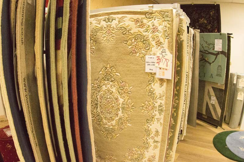 View of a flooring fabric available at Clements