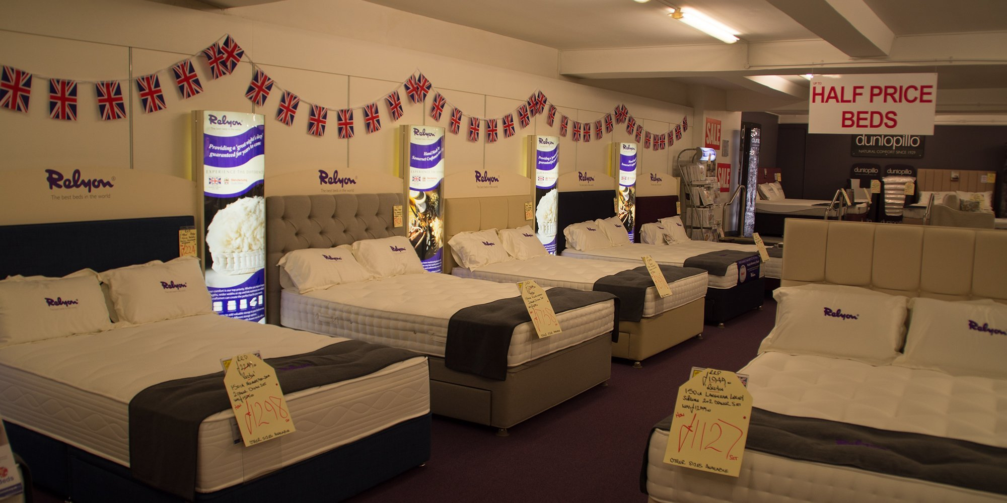 Wide range of beds available at Clements