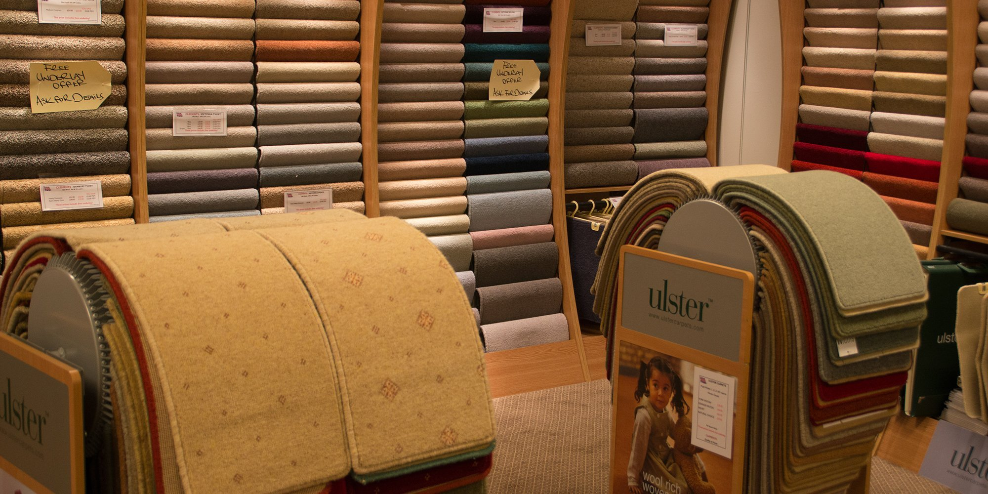 View of a flooring fabric available at Clements in Watford