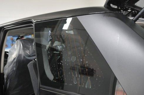 Pellicola oscurante per vetri posteriori