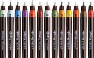 Penne colorate scuola