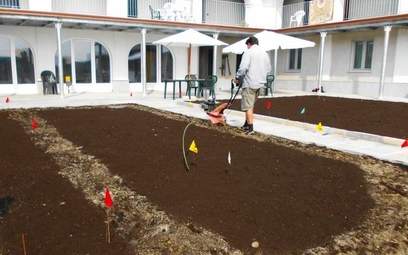 gestione giardino locale