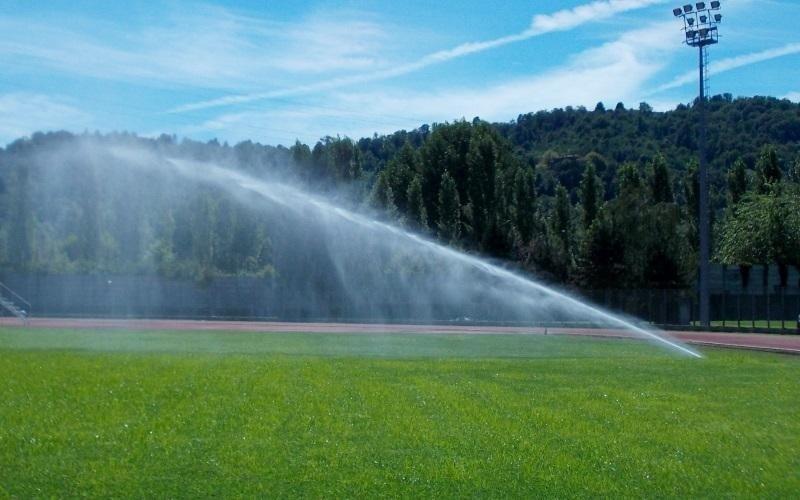 irrigazione parco pubblico