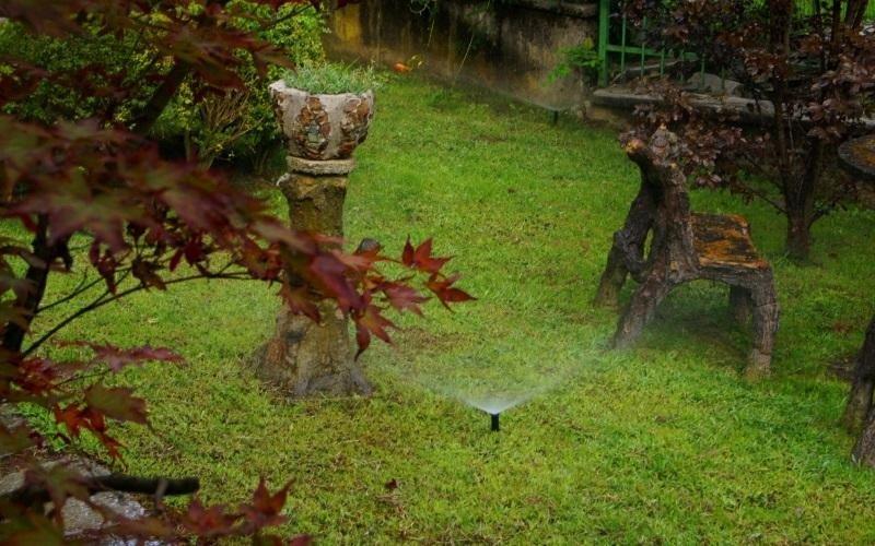 irrigazione giardino privato
